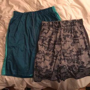 Men's Nike shorts - 2 pairs